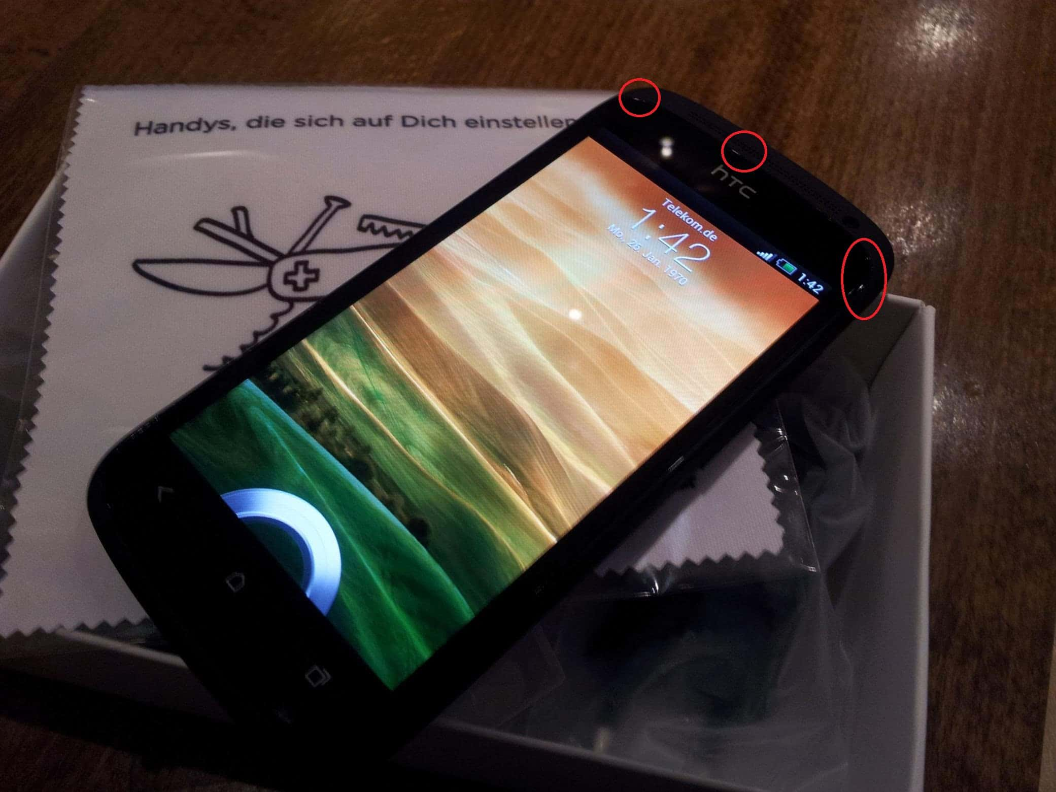 Problemas HTC One S