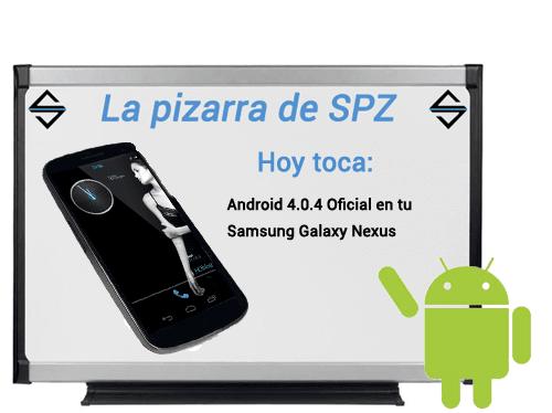 Pizarra SPZ ICS 4.0