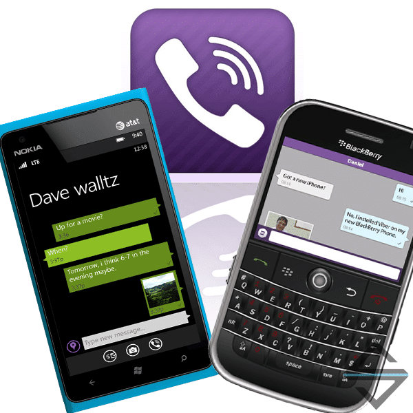 Viber para Blackberry y Windows Phone