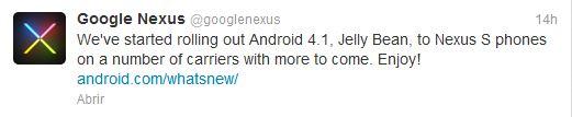 tweet nexus s