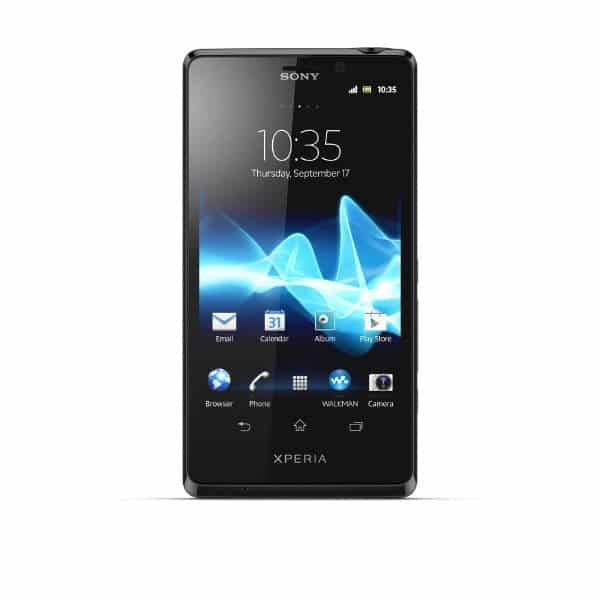 3 XperiaT_Black_Front