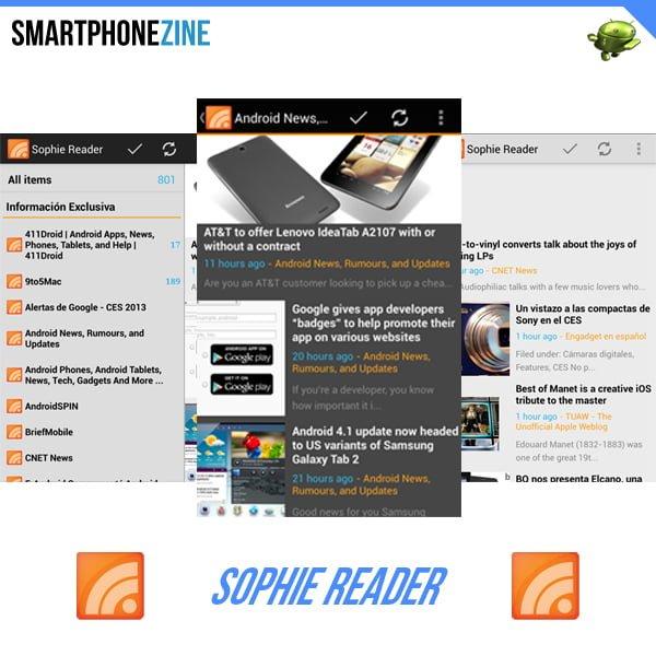 Sophie-reader