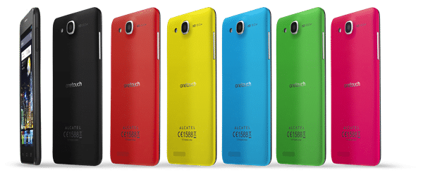 ONE TOUCH IDOL ULTRA colour range