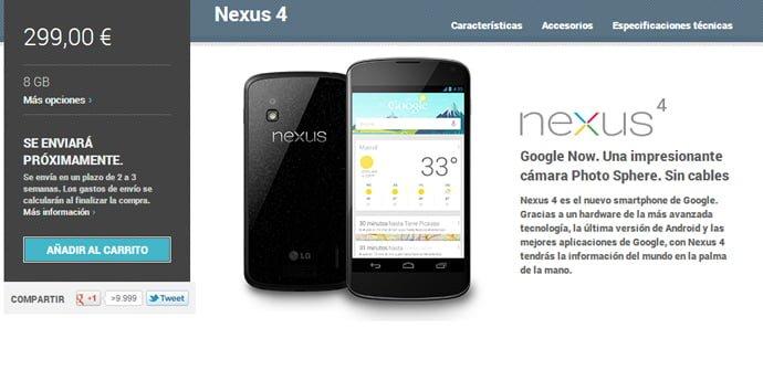 nexus-4-venta