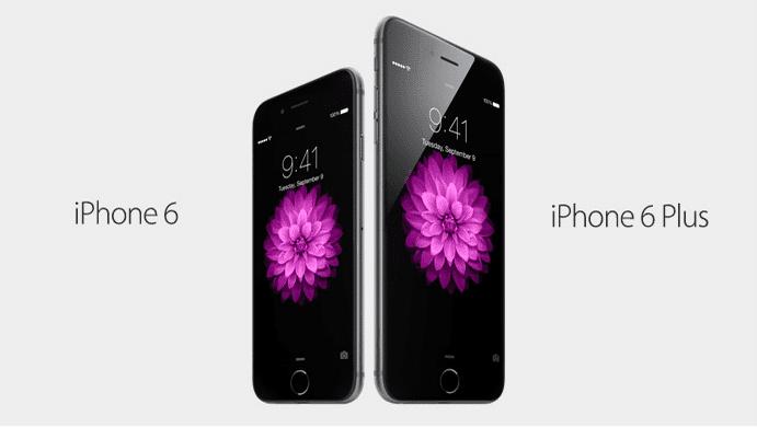 Problemas en las pantallas de iPhone 6 y iPhone 6 Plus