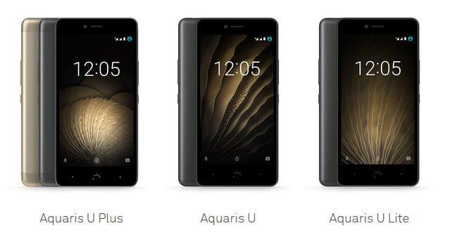 BQ Aquaris U, la nueva serie de smartphones BQ