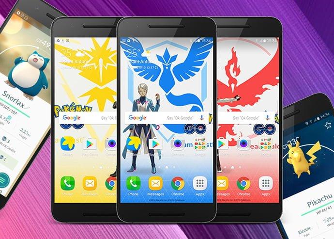 Descargar fondos de pantalla de Pokémon Go para Android