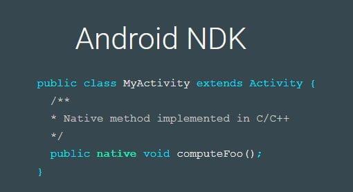 Para qué sirve Android NDK y recursos