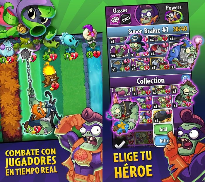 Descargar Plants vs Zombies Heroes