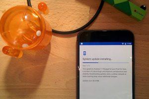 actualizaciones silenciosas android 7 nougat