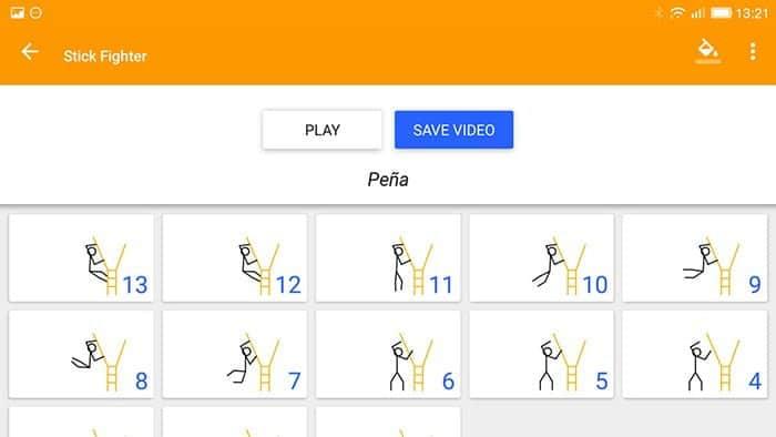 Crear animaciones en Android con Stick Fighter
