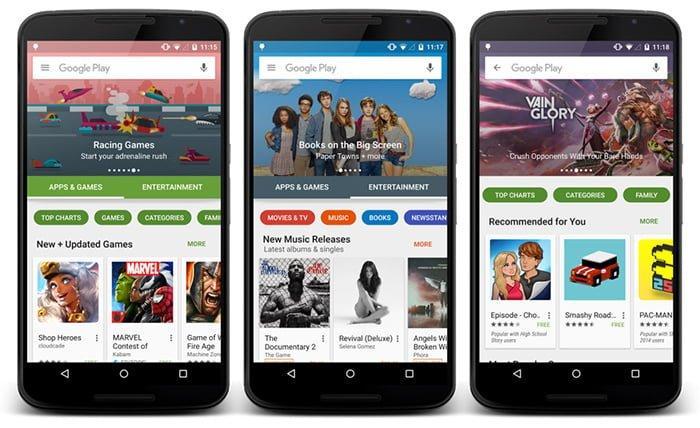 Google Play Store mejora la lucha contra el spam