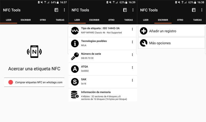 Cómo leer información de tarjetas NFC con un móvil Android