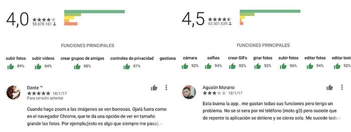 Google Play Store funciones principales