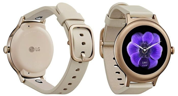 LG Watch Style oro rosa