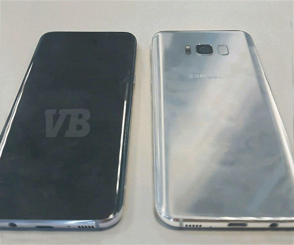 imagen trasera del Samsung Galaxy S8