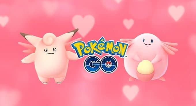 Consigue más caramelos en Pokémon Go con el evento de San Valentín