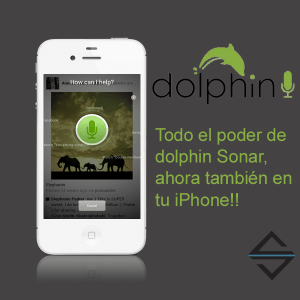 Dolphin Sonar iphone