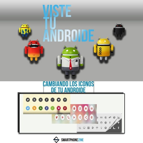 Viste tu Android iconos