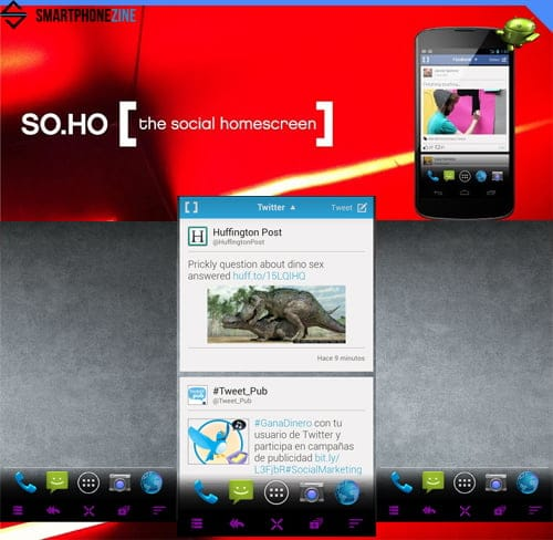 Soho-launcher-android