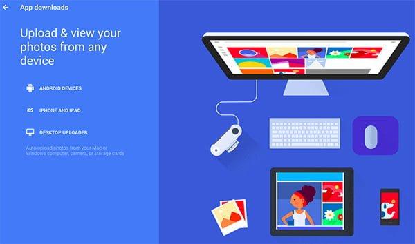 google photos aplicaciones