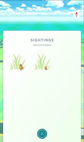 pokemon go hierba