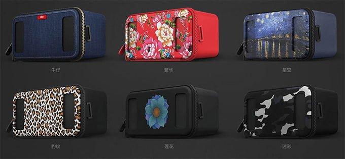Xiaomi VR Toy diseños de tela