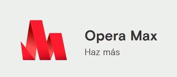 Actualización de Opera Max en Play Store que bloquea anuncios y trackers