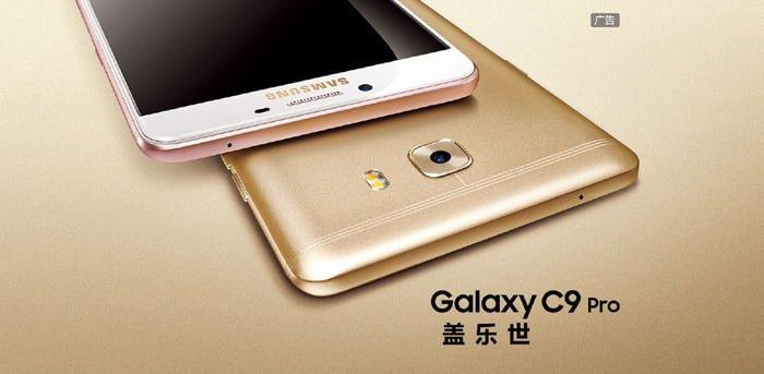 Lanzamiento del Samsung Galaxy C9 Pro
