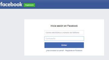 iniciar sesion en facebook
