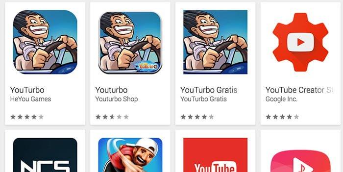 play store aplicaciones clon