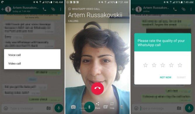 Videollamadas de WhatsApp disponibles con la última actualización de forma gradual