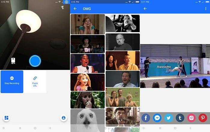 Cómo crear GIFs graciosos desde el móvil con GFycat