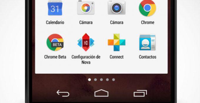 configurar launcher android