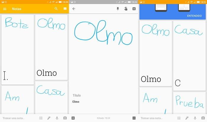 google keep ocr texto editable