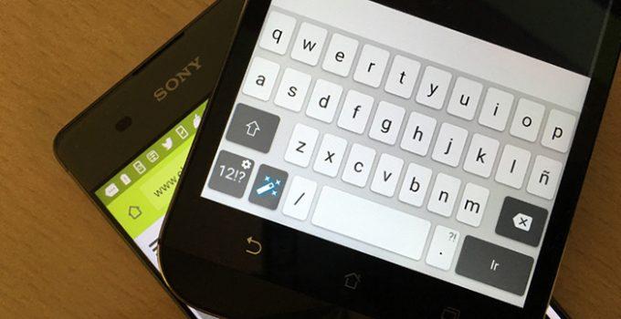 teclado sony xperia