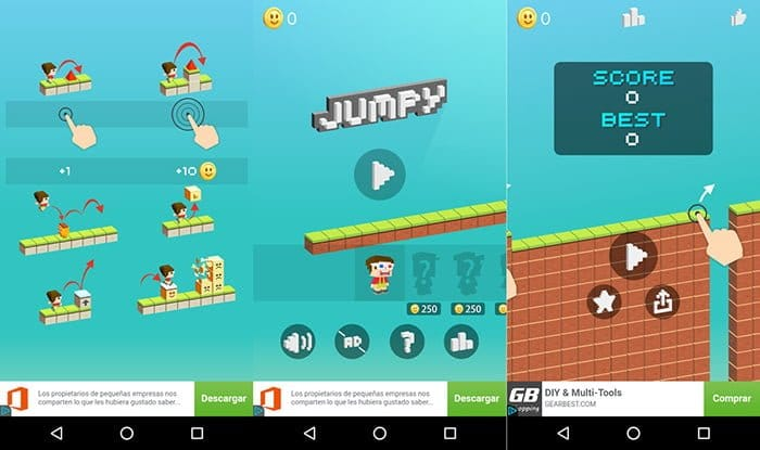 jumpy alternativa super mario run android