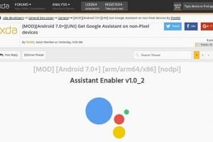xda google assistant enabler