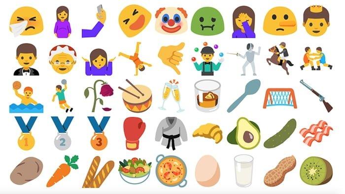 Los nuevos emoji de Unicode 10 ya están listos