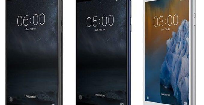 nokia smartphones 2017