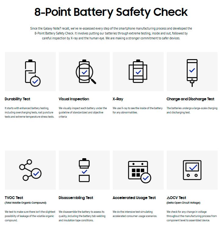 seguridad baterias samsung