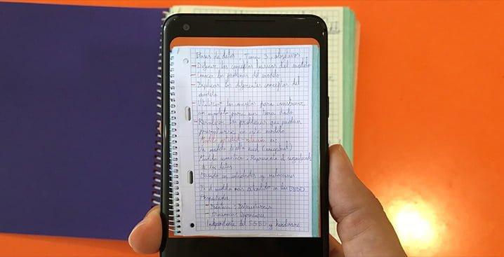 Como escanear documentos en papel con el móvil