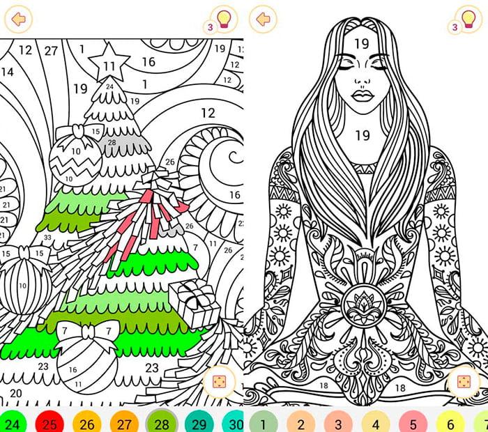 dibujos colorear happy color