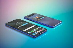 Huawei pantalla trasera