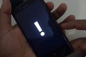 Reinicia tu móvil bloqueado