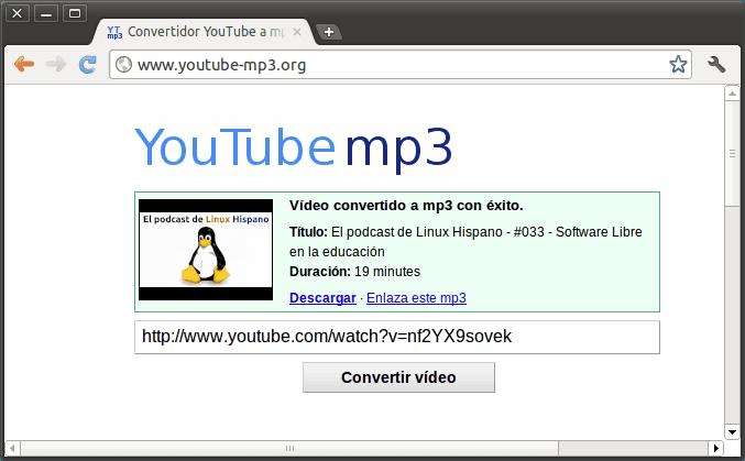 convertir videos youtube a mp3 mas de 1 hora