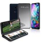 Así es la pantalla dual del smartphone LG G8X ThinQ