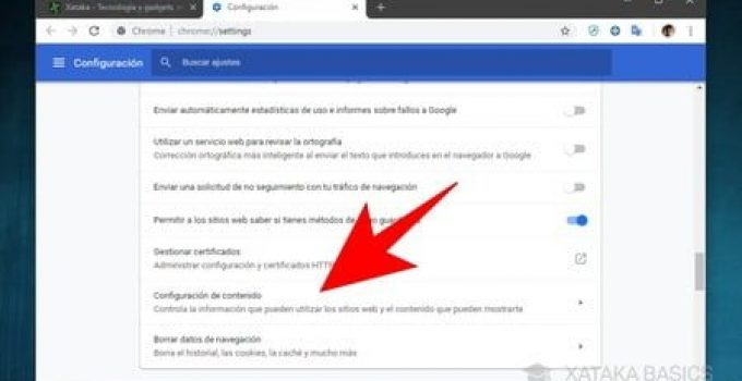 deshabilitar notificaciones web en Android desde Chrome