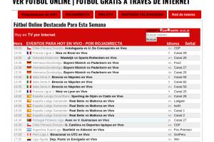 la mejor página para ver fútbol online gratis