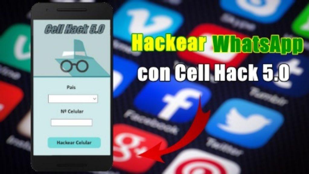 Cómo espiar WhatsApp en Android usando Cell Hack apk